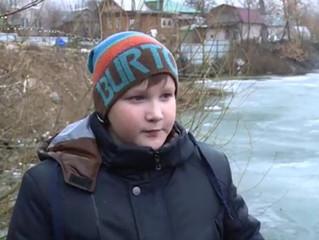 В Уфе 12-летний мальчик спас тонущего мужчину