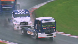 Truck racing filmed at Brands Hatch by Video Creatives