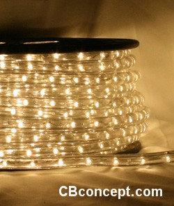 120v UL LED Rope Light - Warm White