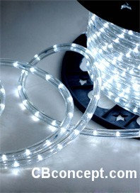 120v UL LED Rope Light - Pure White