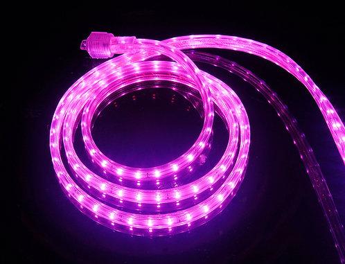 UL Listed, PINK, 120 Volt Flat LED Strip Light, 3528 SMD LEDs