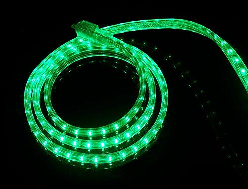 UL Listed, Green, 120 Volt Flat LED Strip Light, 3528 SMD LEDs