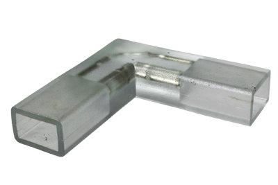 L Shape Connector For 120V SMD5050 LED Strip Light,Pack of 5 Units