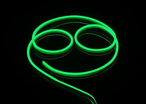 ETL Listed 120 Volt SMD LED Flex Neon Strip Light, GREEN