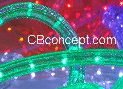120v UL LED Rope Light -Green
