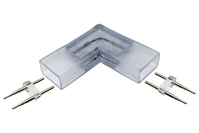 SMD LED Neon Strip Light L Connector, Pack of 3