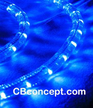 12v LED Rope Light -Blue
