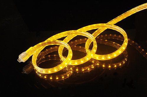 UL Listed, YELLOW , Super Bright SMD5050 120 Volt LED Strip Light