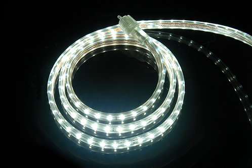 UL Listed, 6000K Pure White, 120 Volt Flat LED Strip Light, 3528 SMD LEDs