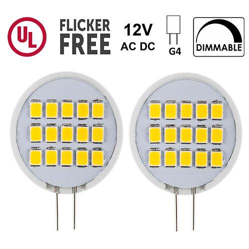 G4 Side-Pin LED 1.8 Watt, 200 Lumen