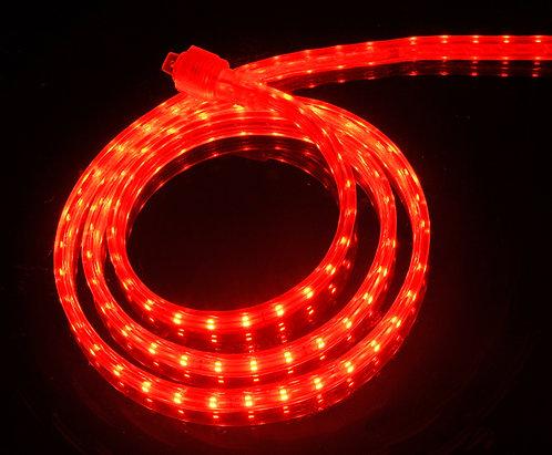 UL Listed, RED, 120 Volt Flat LED Strip Light, 3528 SMD LEDs