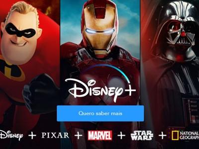 Disney+ no Brasil?