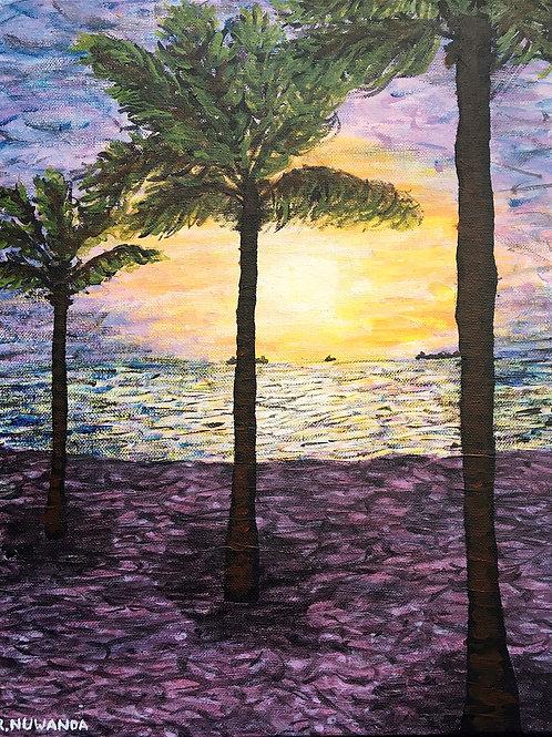 Fort Lauderdale Beach, Framed Original