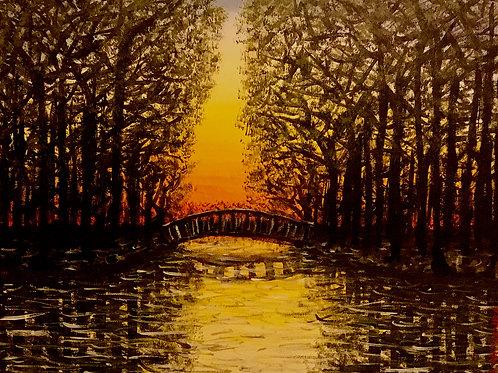 Dark Edge Of Beauty, Original Painting
