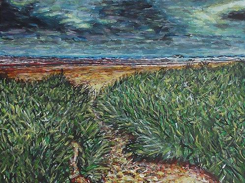 El Viento Del Mar, Original Painting