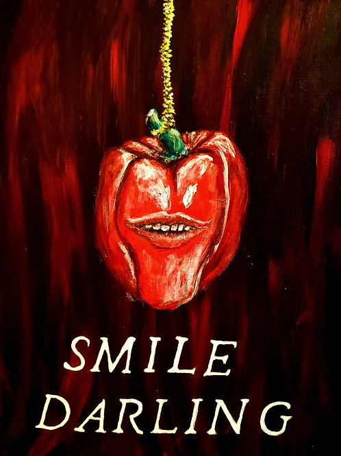 Smile Darling, Original Painting