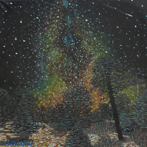 Night Time Sky, Original Painting
