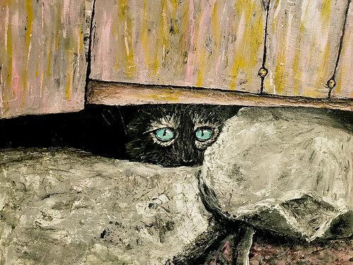Those Eyes, Original Painting