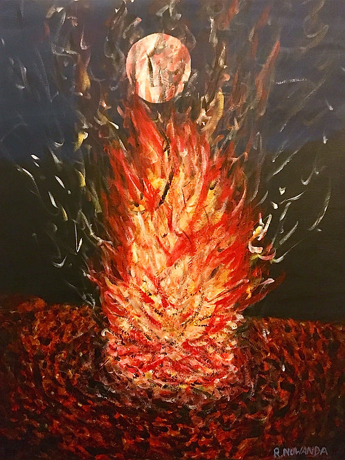 Sound The Alarm, Original Painting