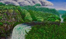 Jungle & Waterfall