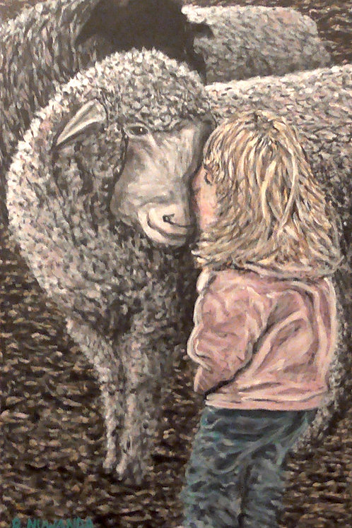 Animals Are Our Friends, Original Painting