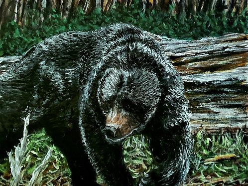 Bear Necessities, Original Painting