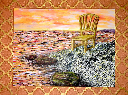 The Sunrise Spectator, Original Artwork