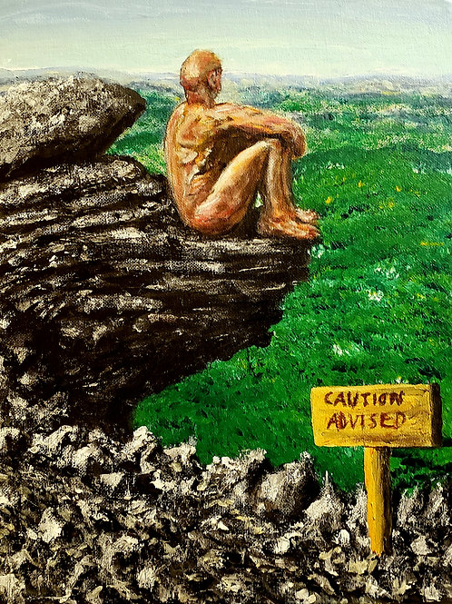 Nude In Nature 1, Original Painting