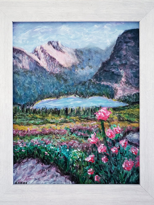 SOLD. Glacier National Park 1, Original Painting