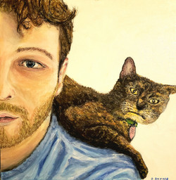 Self Portrait + Rafiki