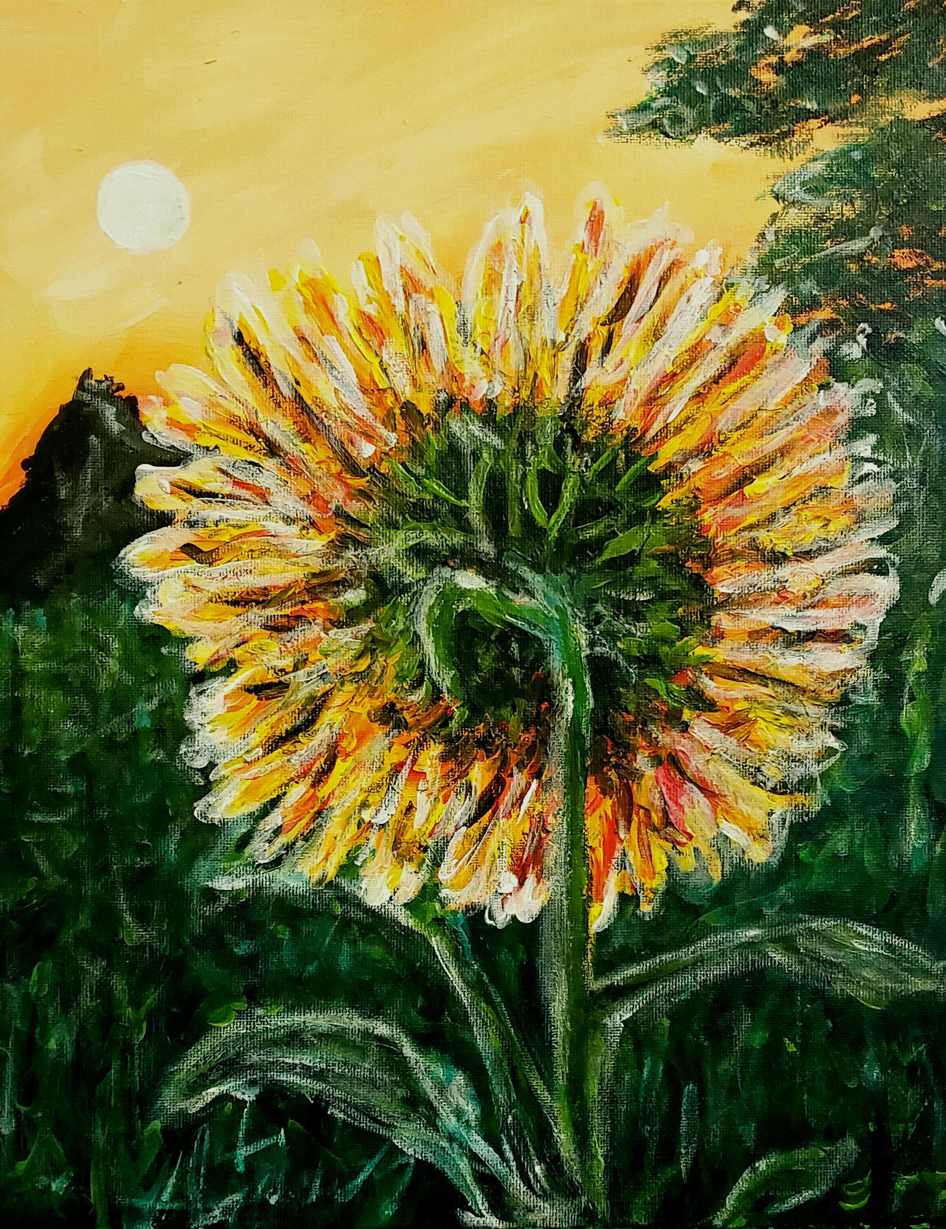 1 Brush Sunflower