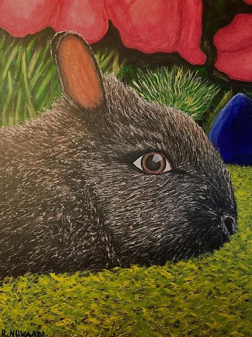 The Happy Rabbit, Original Artwork