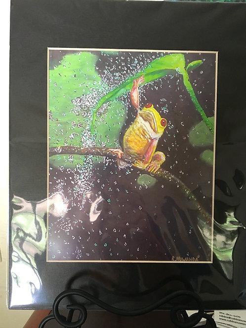 Froggy Print