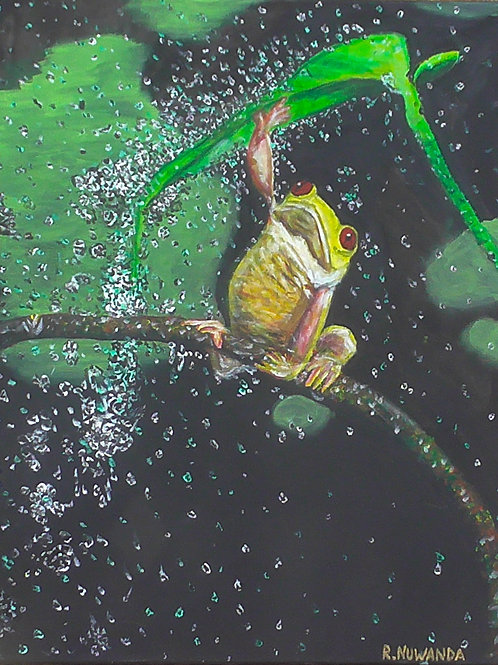 Froggy, Original Painting