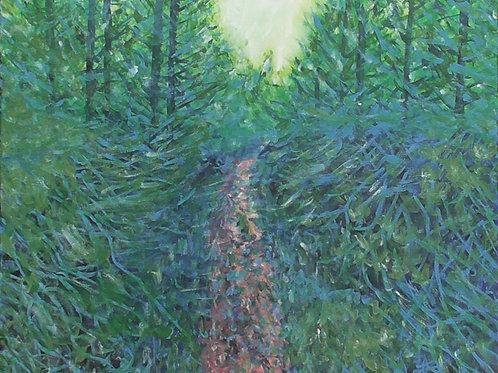 Woodland Path, Original Painting