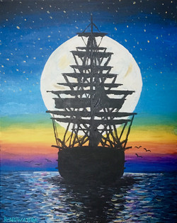 Ship In The Moon