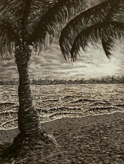 Monochromatic Seascape