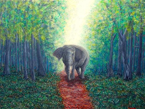Migration Path, Original Painting