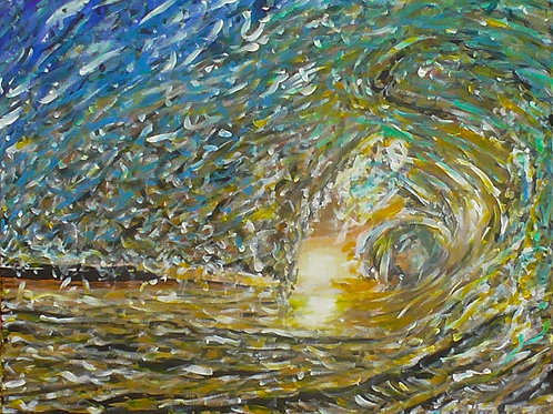 Wave, Original Painting