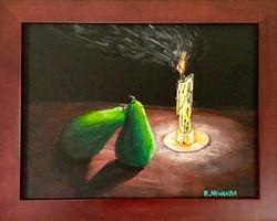 Caravaggio's Pears