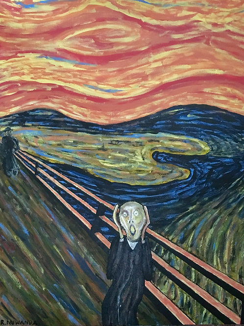 Munch's Scream, Original Painting