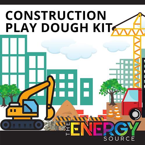 Construction Play Dough Kit