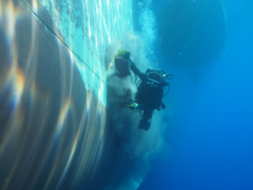 israel commercial diving