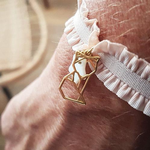 Bracelet élastique renard