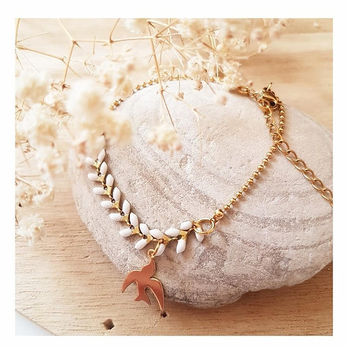 Bracelet  chaîne épi