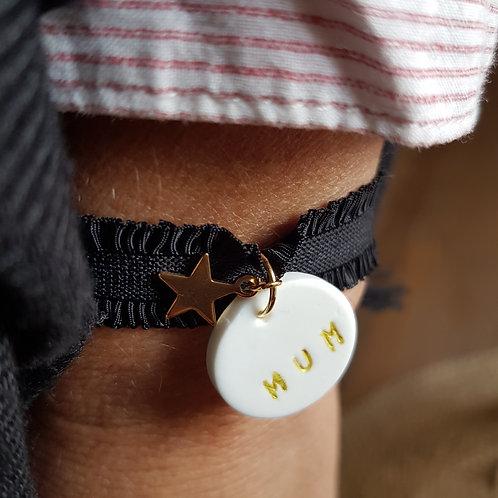 Bracelet élastique mum