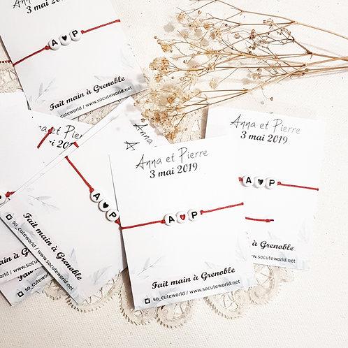 Bracelet lettres EVJF