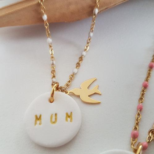 """Sautoir """"Mum"""" réservé  little matilu"""