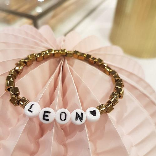 Bracelet élastique perles japonaises à personnaliser