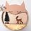 Thumbnail: Etagère ronde renard